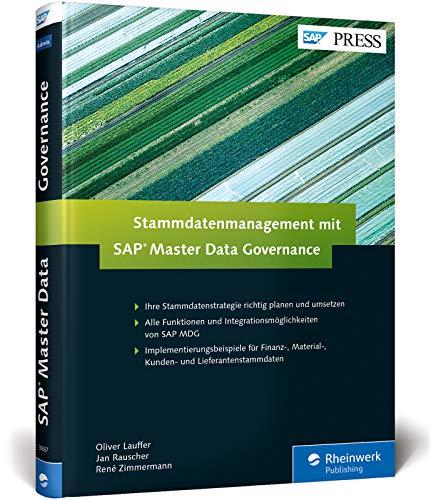 Stammdatenmanagement mit SAP Master Data Governance (SAP PRESS)