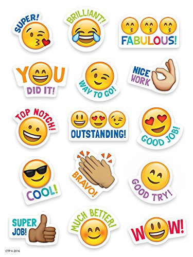 Creative Teaching Press Emoji Rewards Stickers (4143)