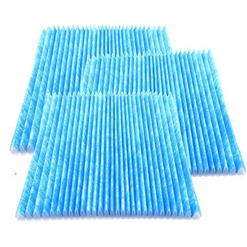 BJJH Plisseefilter für Luftreiniger Ersatzfilter 7er Set mit Tracking F/S kompatibel mit DAIKIN KAC972A4 (Blau)