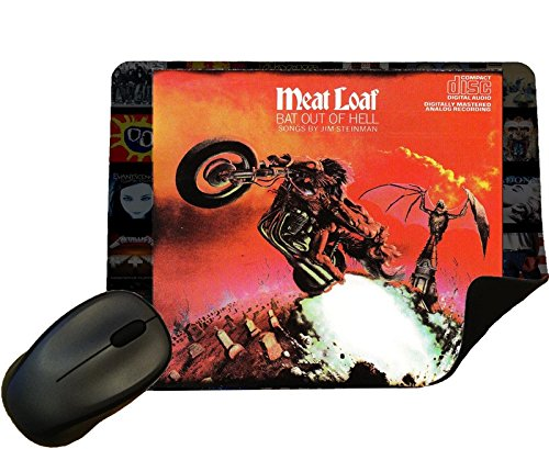 Meat Loaf - Bat Out of Hell Album Cover Mouse Mat/Pad - by Eclipse Gift Ideas