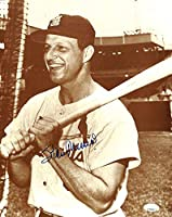 Stan Musial Autographed Signed St. Louis 11x14 Baseball Photo JSA