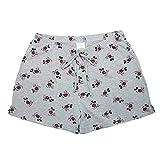 Disney Mickey Mouse Pajama Shorts,Grey,Small