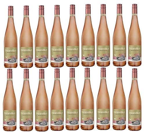 18 Flaschen Strandgut Rose a 0,75 L 6% vol. Weinschorle