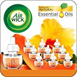 Air Wick plug in Scented Oil 10 Refills, Hawaii, Eco friendly, Essential Oils, Air Freshener