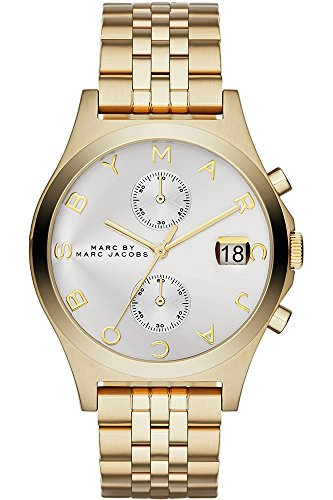 Marc Jacobs Damen-Uhren Analog Quarz One Size Gold Edelstahl 32001830