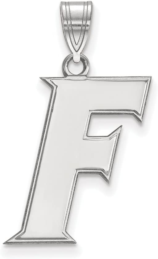Florida Large 3 Max 65% OFF 4 Oklahoma City Mall Pendant Inch Silver Sterling