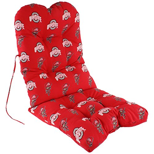 College Covers Ohio State Buckeyes Adirondack Chair Cushion One Size Team Colors