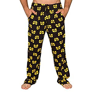 Wu Tang Clan Logo Yellow and Black Lounge Pants
