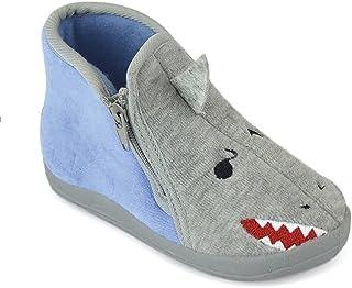 Dinzio Toddler Boy Girls Cat Shark Slipper