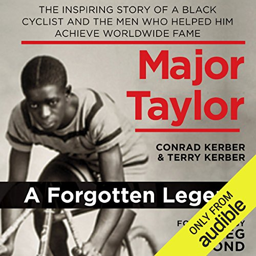 Major Taylor audiobook cover art