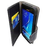 FOLIO 5' pouces universelle Smartphone NOIR ( Compatibles tous mobiles de 4.8' a 5.3' ) Etui Housse Pochette Coque compatible Samsung Honor Sony Archos Logicom Lg Alcatel Huawei wiko Moto Lenovo