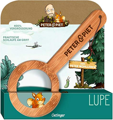 Peter & Piet Bambus-Lupe