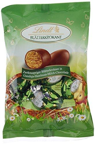 Lindt & Sprüngli Blätterkrokant-Ei,Beutel, 3er Pack (3 x 85 g)