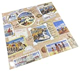 Tovaglioli di carta per il pranzo delle feste, circa 33 x 33 cm, per ogni occasione, estate, primavera, spiaggia, viaggi, vacanza, scrapbook
