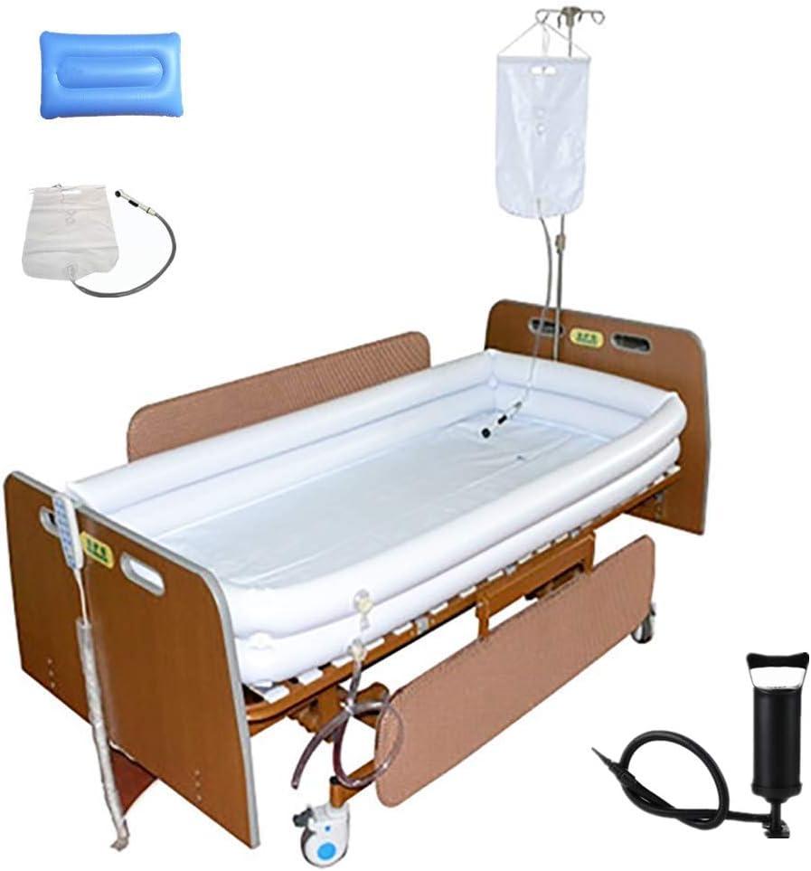 Inflatable Shower Bathtub Kit Medical Japan Maker New OFFicial Adult Syst