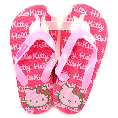 Hello Kitty [L2086 - Tongs Rose Fuschia