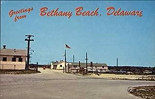 Delaware National Guard Summer Training Camp Bethany Beach Original Vintage Postcard