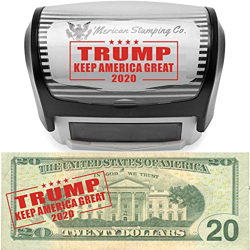Donald Trump Keep America Great 2020 Stamp by 'Merican Stamping Co. | Donald Trump Lives Here Stamp | Make America Great Again MAGA