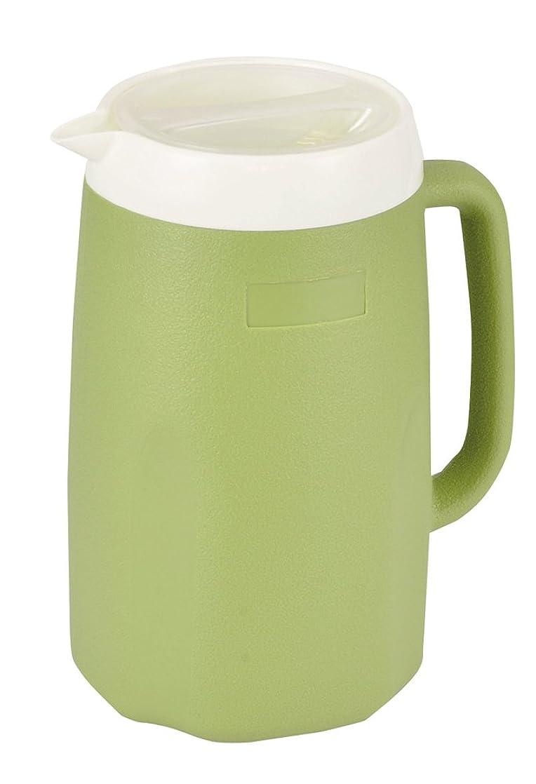 面倒数事業パール金属 ウォーター ピッチャー お茶 麦茶 ポット 1.8L グリーン クーリス HB-3059