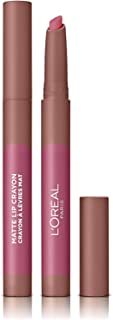L'Oréal Paris Infaillible Matte Lip Crayon Pomadka do ust w wygodnej formie kredki o matowym wykończeniu, 102 Caramel Blon...