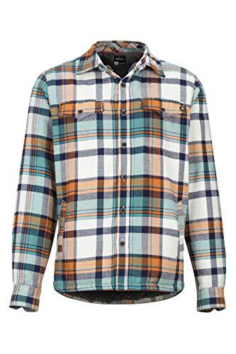 Marmot Herren Ridgefield LS Langärmliges Outdoor-Hemd, Wander-Shirt Mit Uv-Schutz, Atmungsaktiv, Moonstruck, S