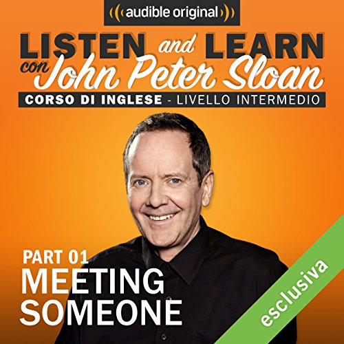 Meeting someone 1 (Lesson 2) audiobook cover art