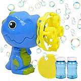 Q-BABY Dinosaur Bubble Gun Bubble Blower with 2 Bubble...