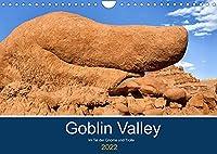 Goblin Valley - Im Tal der Gnome und Trolle (Wandkalender 2022 DIN A4 quer): Das Goblin Valley im Suedosten Utahs ist ein bizarres Paradies durch Erosion geformter Sandsteinskulpturen. (Monatskalender, 14 Seiten )