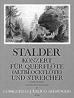 STALDER J. - Concierto para Flauta (Flauta de Pico Alto) y Piano (Diethelm)