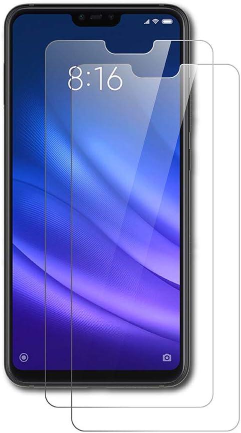 AICEK [2-Pack Protector de Pantalla Xiaomi 8 Lite, Cristal Templado para Xiaomi Mi 8 Lite Vidrio Templado Xiaomi 8 Lite Cristal Screen Protector (6,26 Pulgadas)