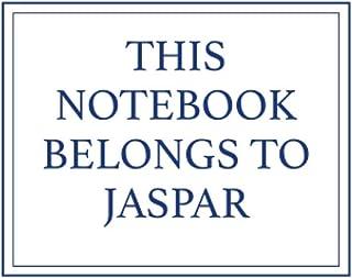 This Notebook Belongs to Jaspar