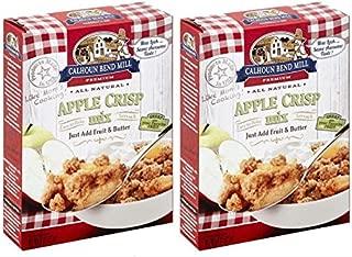 Calhoun Bend Mill Apple Crisp Mix 8 ounce, (Pack of 2)