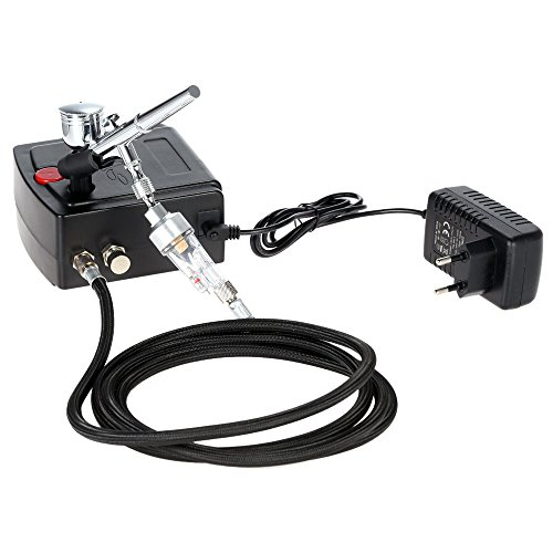 KKmoon Double Action Airbrush Set...