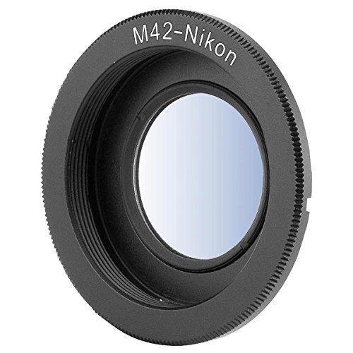 M42 Lente para NIKON F Mount cámara réflex digital anillo ...