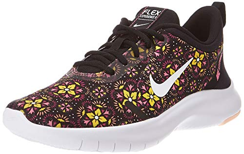 Price comparison product image Nike Women's Flex Experience RN 8 SE Running Shoe Black / White / Lotus Pink / Crimson Tint Size 8.5 M US