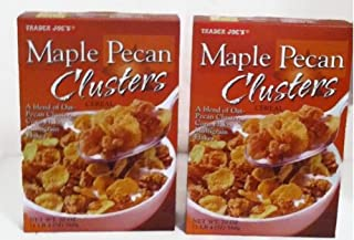 Trader Joe's Maple Pecan Clusters Cereal - 2 20 Oz Boxes