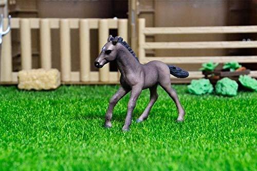 Originele echte boerderij dieren sets huisdieren honden paarden pony koeien schapen kip kip kat gans kinderen leren speelgoed kinderen gift, Lusitano paardenwelp
