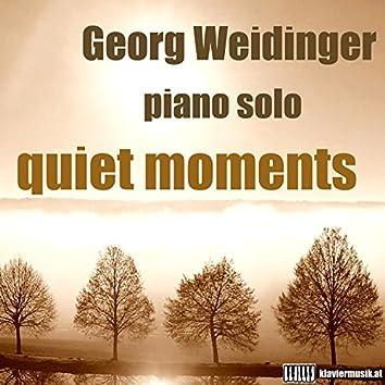 Quiet Moments: Piano Solo
