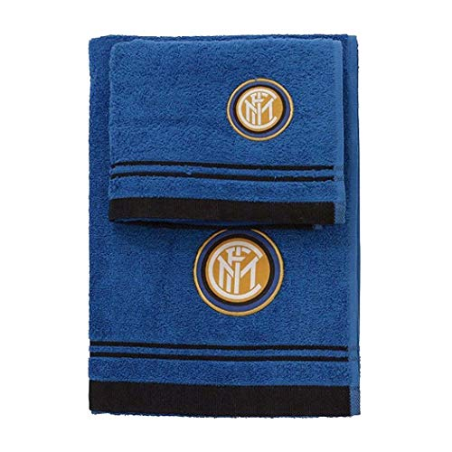 Inter,SET SPUGNA 1+1 INTER,Taglia Unica,blu