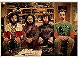 YUDIAO Leinwand Poster The Big Bang Theory Poster Film