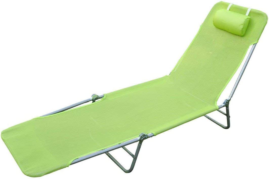 Lightweight Outdoor Patio Max 80% OFF Folding Chaise Co Popular standard Chair Camping Lounge