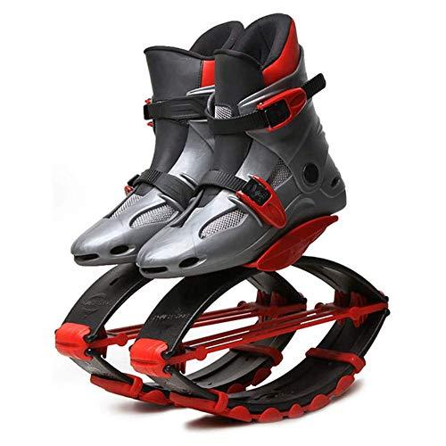 HLDUYIN Zapatos De Rebote Elástico Zapatos para Niños De Rebote Espacio Zapatos Adultos Zapatos Zancos De Rebote Los Hombres Y Las Mujeres Saltan Zapatos,S
