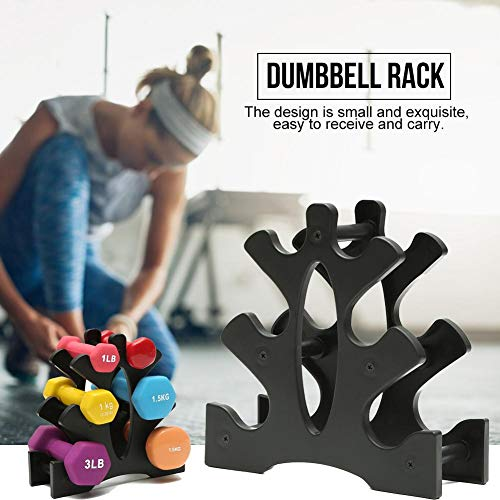 3 Tier Dumbbell Rack for Multilevel Hand Weights Storage Holder Tower Stand Home Fitness Equipment Storage Rack Gym Organization 128/5000