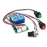 6 V 12 V 24 DC 3 A DC controlador de velocidad del motor (PWM) velocidad ajustable reversible interruptor DC motor conductor de marcha atrás