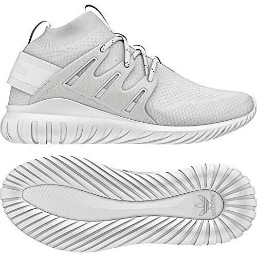 Adidas Tubular Nova PK, Zapatillas para Hombre, Blanco (Ftwbla/blacla), 37.5 EU