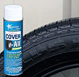 Superior Products California Cover All Automotive Tire Shine Aerosol Spray Can & Professional Grade -Tire Dressing - High Gloss - Water Repellent & Made in America (14 oz)