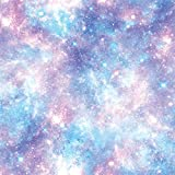 Galaxy Wrapping Paper Space Gift Wrap - Folded Flat 30 x 20 Inch (3 Sheets)