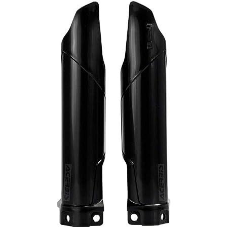 1 Pc of UFO Fork Tube Protectors Black #KA03711001 Compatible with Kawasaki KX100//KX85