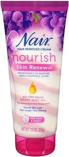 Nair Hair Remover Nourish Skin Renewal Legs & Body 7.9 Ounce (233ml) (2 Pack)