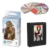 HP Sprocket 2x3 Premium Zink - Papel fotográfico adhesivo compatible con impresoras fotográficas HP Sprocket